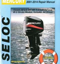 seloc 2001 2014 mercury mariner  [ 1024 x 1372 Pixel ]