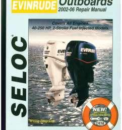seloc 2002 2006 evinrude 15 300 hp  [ 1024 x 1325 Pixel ]