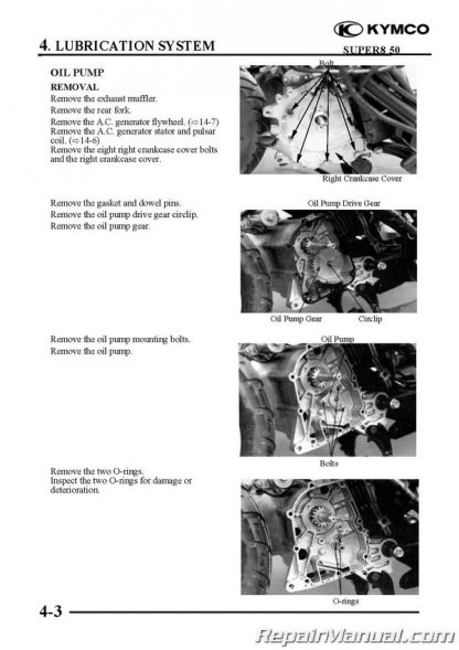 KYMCO Super 8 50 4-stroke 1st Generation Cyclepedia