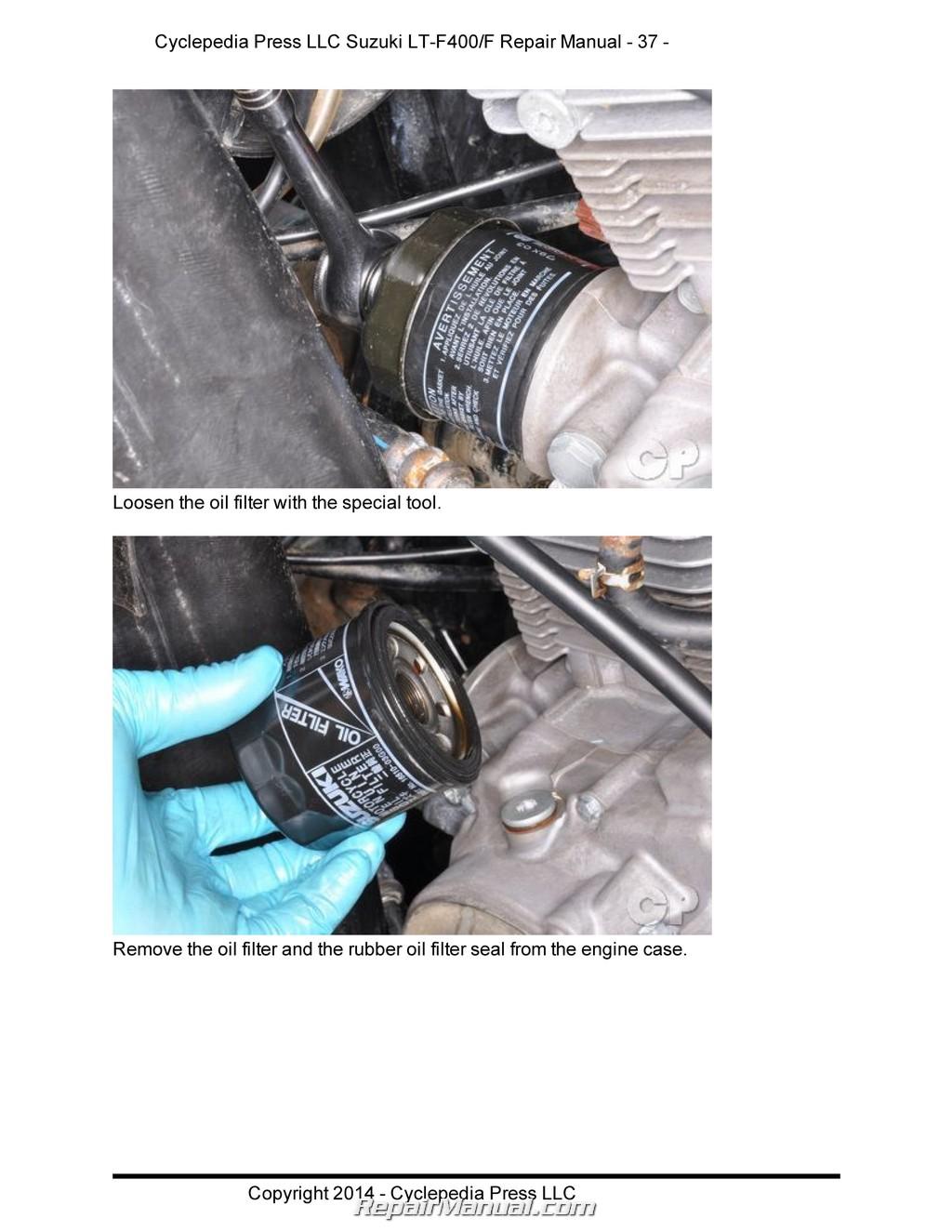 suzuki eiger 400 wiring diagram kicker dvc lt f400 f400f manual shift atv printed