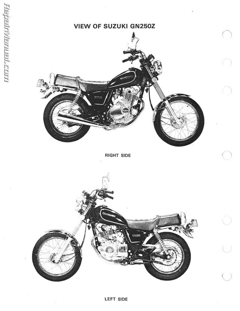 [WRG-1056] Suzuki Gn250 Wiring Diagram
