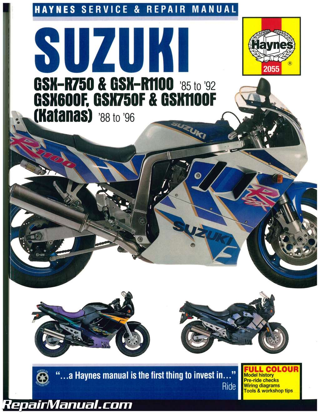 hight resolution of suzuki gsx r 750 gsx r 1100 1985 1992 katana 600 750