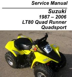 suzuki lt80 quadsport kawasaki kfx80 cyclepedia printed service manual [ 1024 x 1325 Pixel ]