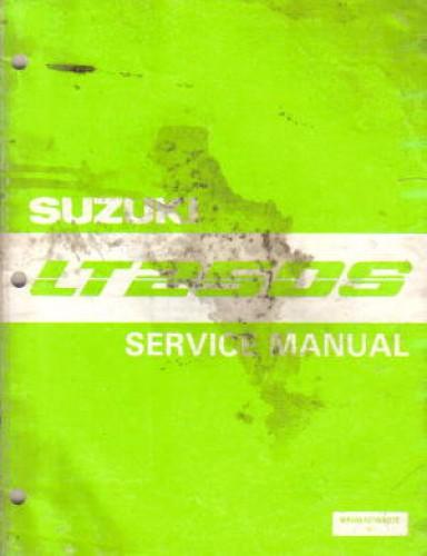 Suzuki Quadsport 50 Parts Diagram