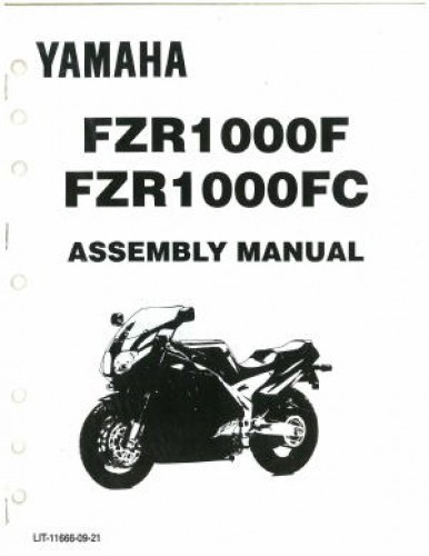 Used 1994 Yamaha FZR1000F FC Assembly Manual
