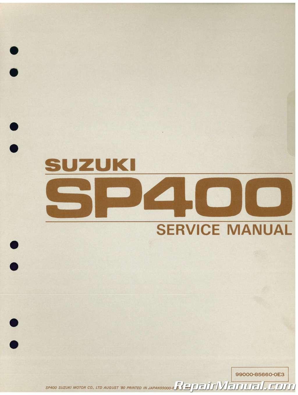 hight resolution of gn400 wiring diagram 1980 suzuki sp400 dr400 gn400 motorcycle service manual1980 suzuki sp400 dr400 gn400
