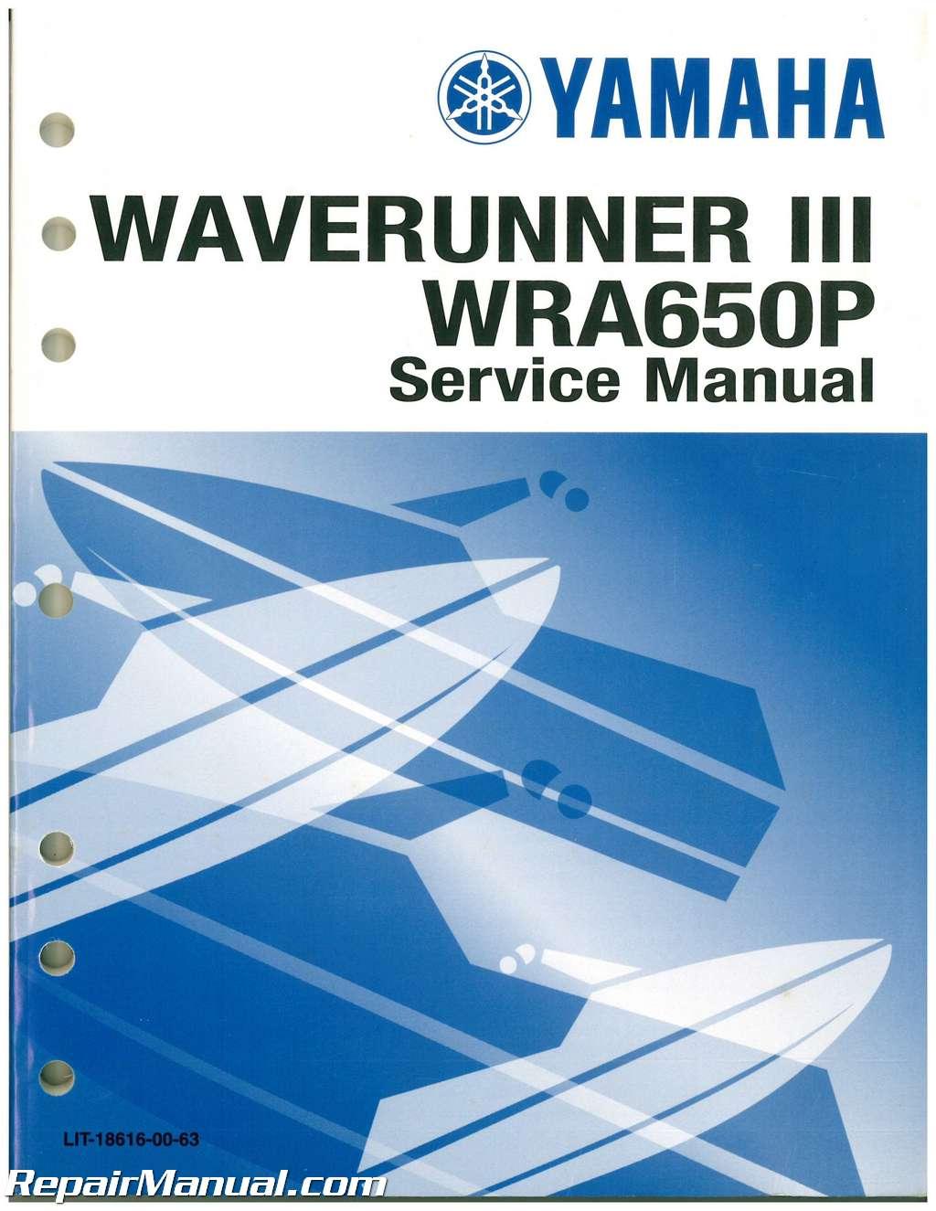 waverunner repair manual