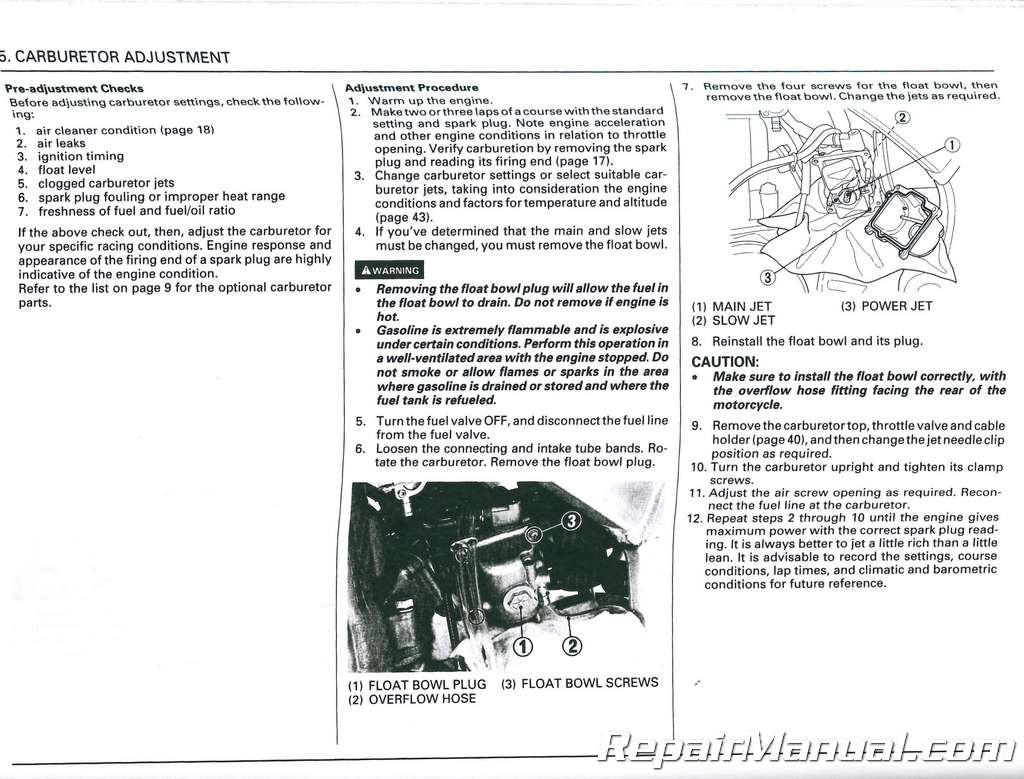 2002 Cr250r Owners Manual