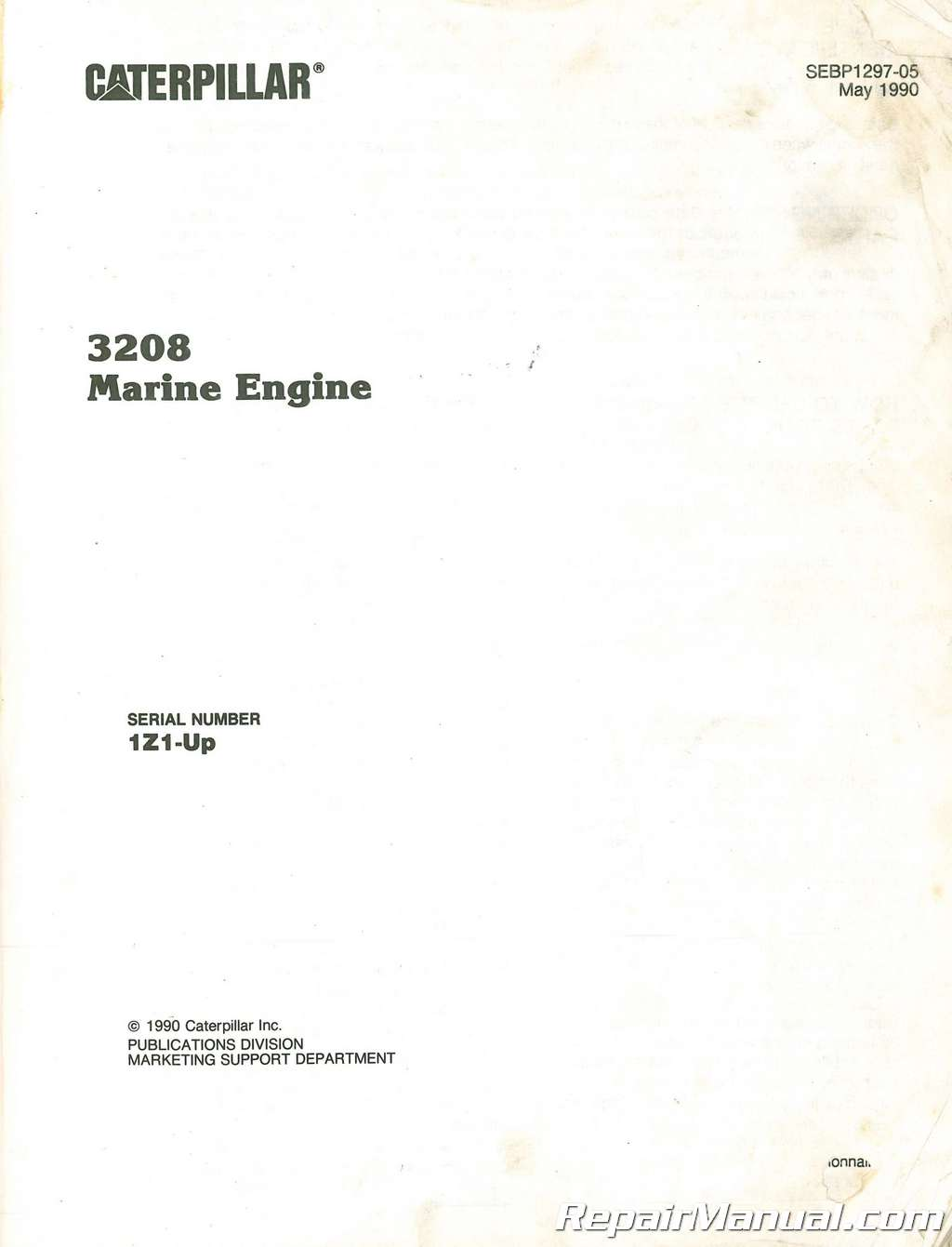 hight resolution of caterpillar 3208 part exploded diagram