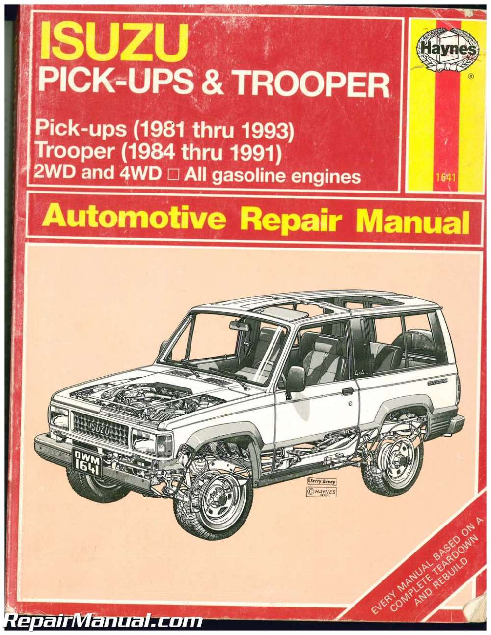 1993 isuzu rodeo repair manual
