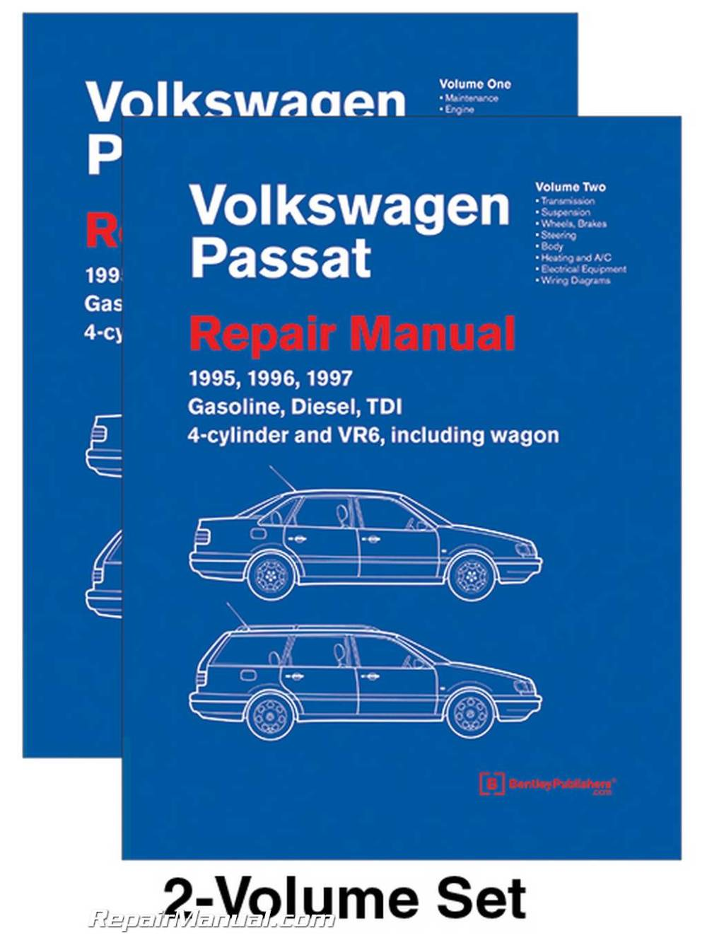 medium resolution of volkswagen passat b4 repair manual 1995 1996