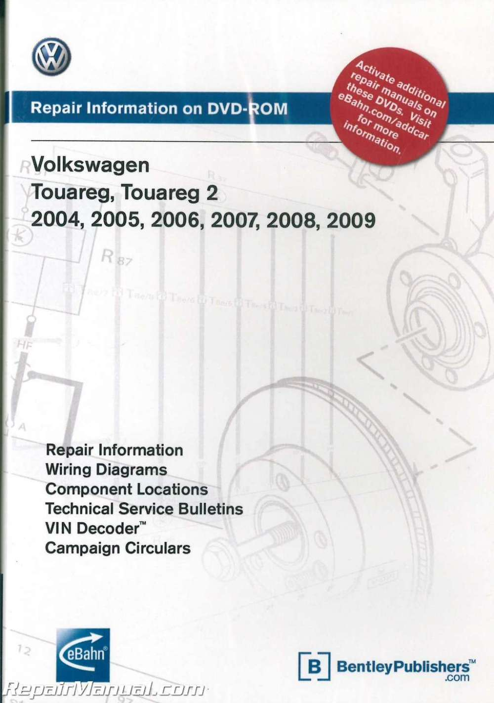 medium resolution of volkswagen touareg