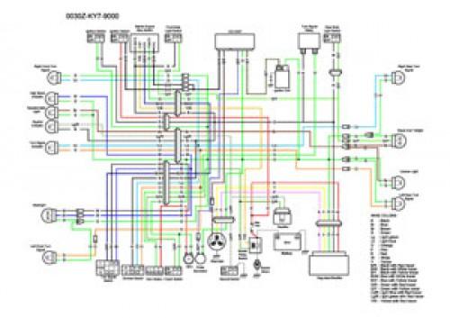 1990 honda 125 wiring schematic