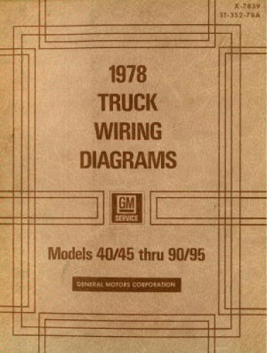 automobile wiring diagrams glycolysis and krebs cycle diagram gmc truck manual 1978 used