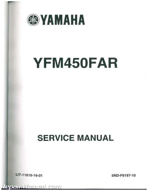 small resolution of 2003 2006 yamaha kodiak 450 4wd 2007 2014 grizzly 450 4wd service manual rh repairmanual com alpine amp wiring diagram 2003 yamaha kodiak wiring diagram