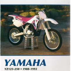 Honda 125 Motorcycle Wiring Diagram 97 Civic Ex Radio Yz125 Yz250 1988-1993 Wr250z 1991-1993 Clymer Yamaha Repair Manual