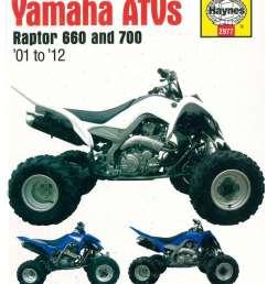 yamaha raptor 660 700 2001 2012 atv repair manual  [ 1024 x 1335 Pixel ]