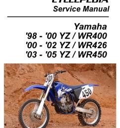 motorcycle wiring diagrams yamaha wr450 2004 [ 1024 x 1311 Pixel ]