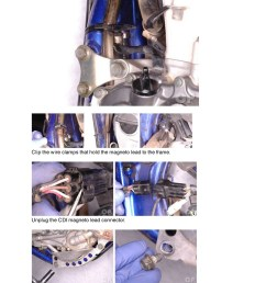 array yamaha yz wr 400 426 450f cyclepedia printed motorcycle service manual rh repairmanual  [ 1024 x 1325 Pixel ]