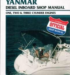 yanmar diesel inboard boat engine shop manual  [ 1024 x 1346 Pixel ]