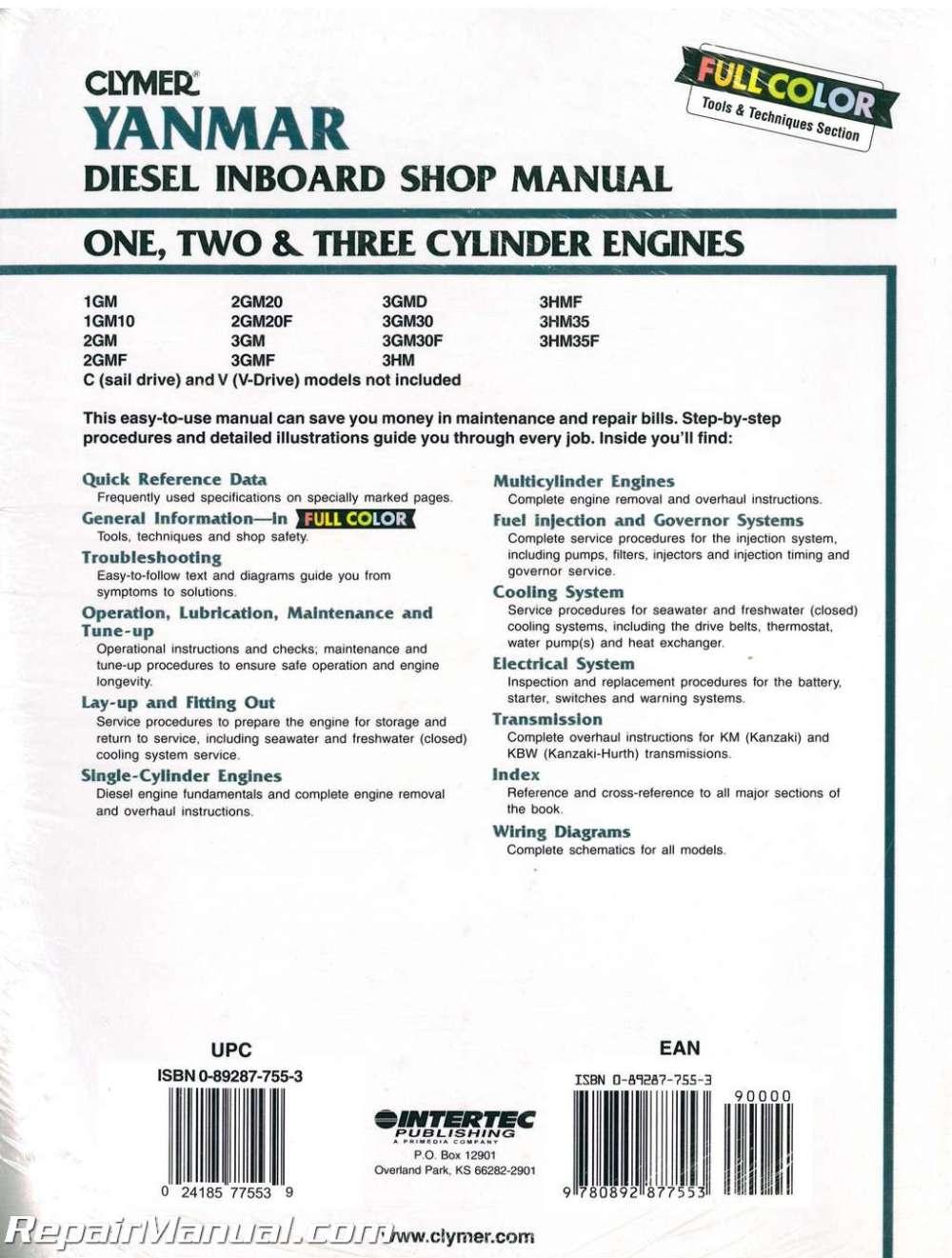medium resolution of yanmar diesel inboard boat engine shop manual