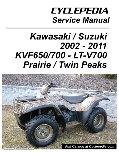 small resolution of wiring diagrams for kawasaki prairie 300 atv wiring librarykawasaki kvf650 brute force kvf650 kvf700 prairie suzuki