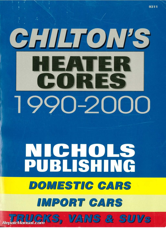 hight resolution of 1990 dodge ram heater core