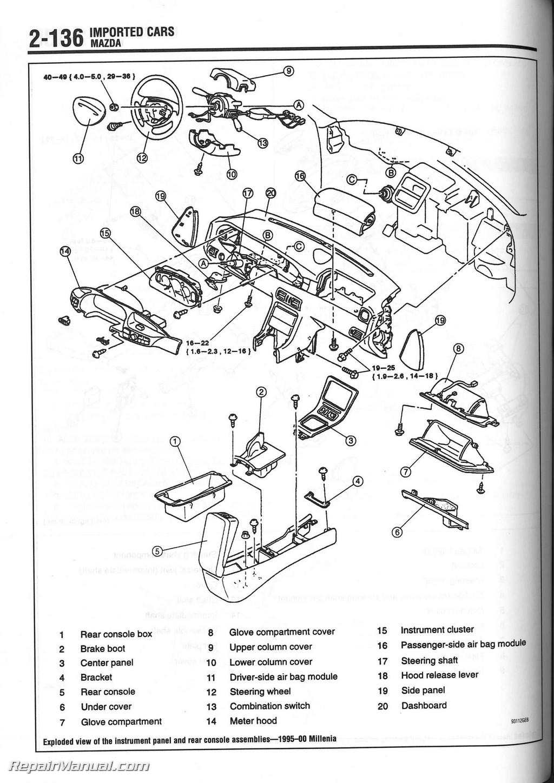 2005 Subaru Outback Headlight Wiring Diagram Chilton 1990 2000 Heater Core Installation Manual