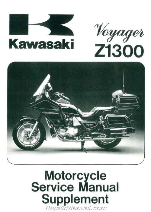 small resolution of 1983 1989 kawasaki voyager zn1300 motorcycle service manual supplement