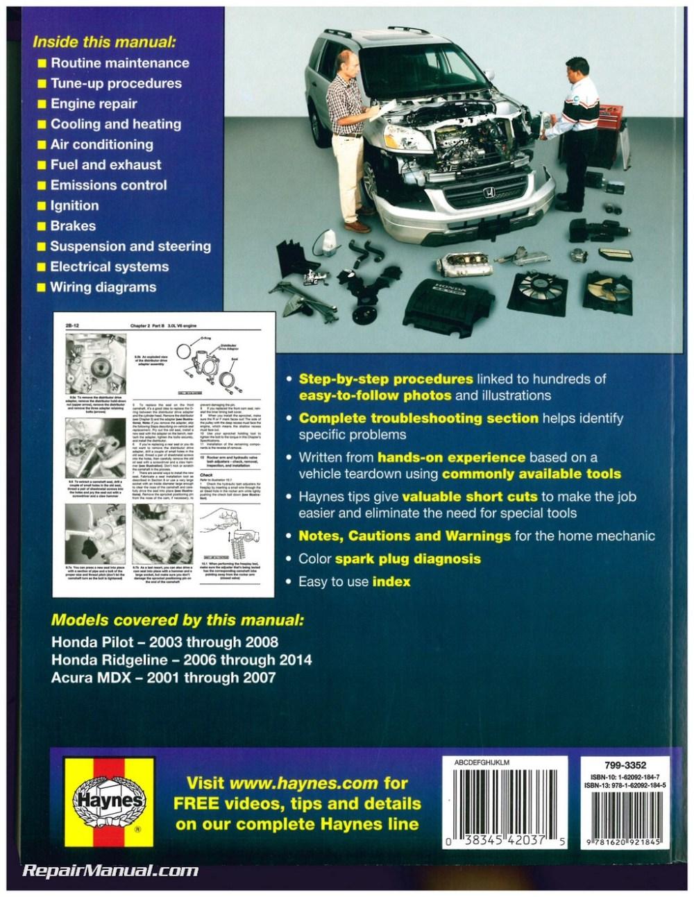 medium resolution of manual acura mdx 2008 espa ol