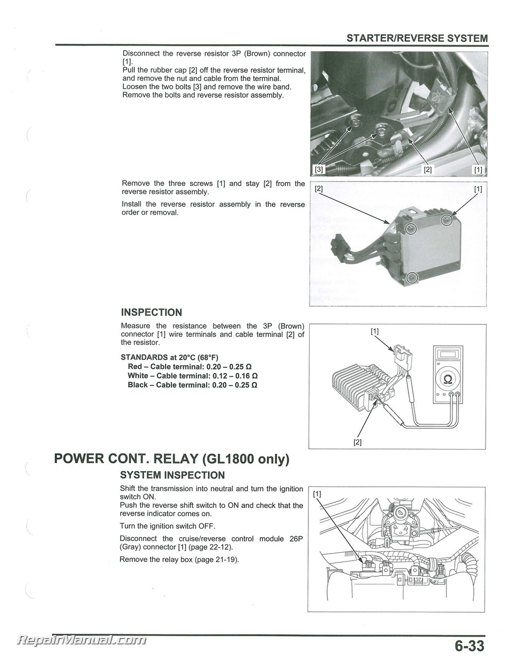 hight resolution of 2012 2017 honda gl1800a b goldwing motorcycle service electrical troubleshooting manual