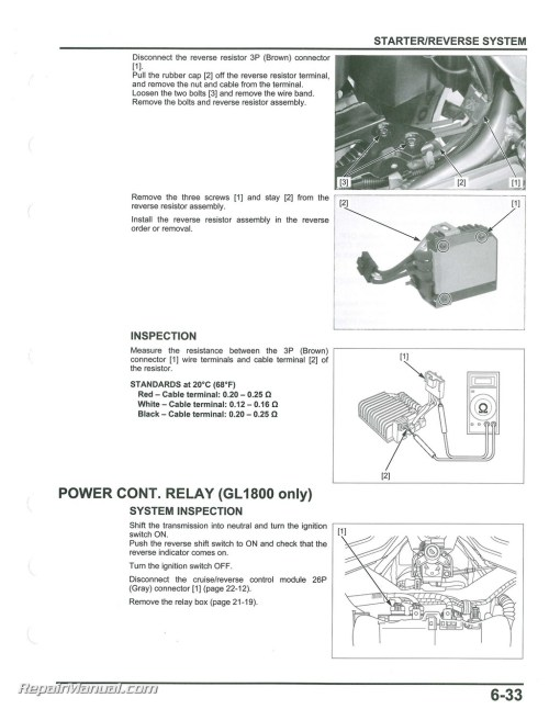 small resolution of 2012 2017 honda gl1800a b goldwing motorcycle service electrical troubleshooting manual