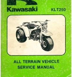 1982 kawasaki klt250 a1 3 wheel atc printed service manual rh repairmanual com wiring diagram for [ 1024 x 1325 Pixel ]