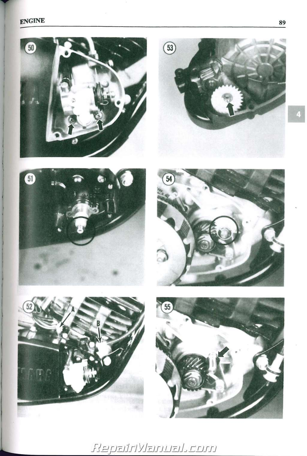 hight resolution of 1977 1983 yamaha dt 100 125 175 250 400 mx100 175 clymer motorcycle repair manual