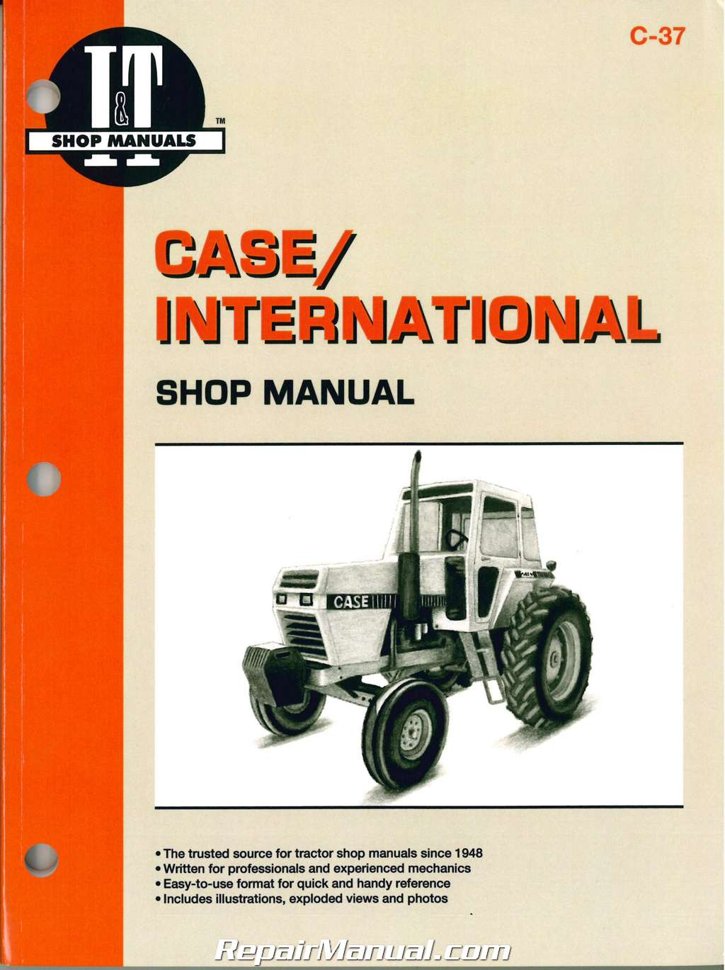 hight resolution of case international 2090 2094 2290 2294 2390 2394 2590 2594 tractor repair manual