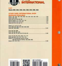 case international 2090 2094 2290 2294 2390 2394 2590 2594 tractor repair manual [ 1024 x 1369 Pixel ]