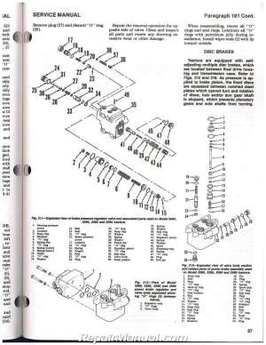 Case International 2090 2094 2290 2294 2390 2394 2590 2594 Tractor Repair Manual