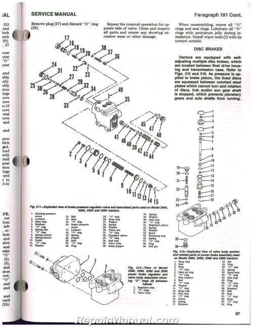 small resolution of case international 2090 2094 2290 2294 2390 2394 2590 2594 tractor repair manual