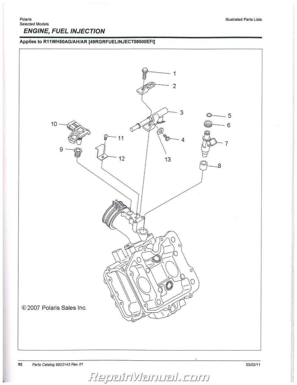 medium resolution of polari ranger part diagram