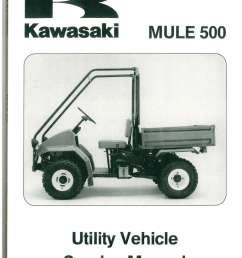 1990 2004 kawasaki kaf300a mule 500 520 550 utv service manual [ 1024 x 1408 Pixel ]