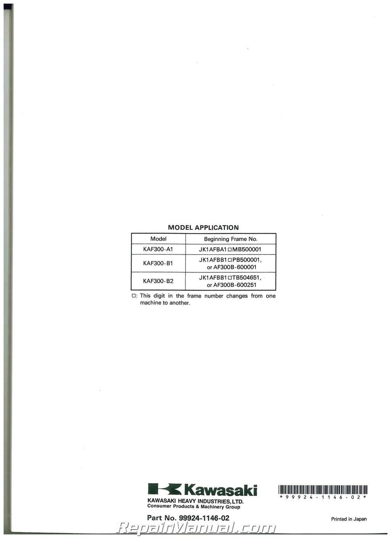hight resolution of kawasaki mule kaf300 wiring diagram