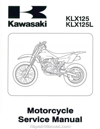 2003 Kawasaki KLX125LB1 Motorcycle Repair Manual