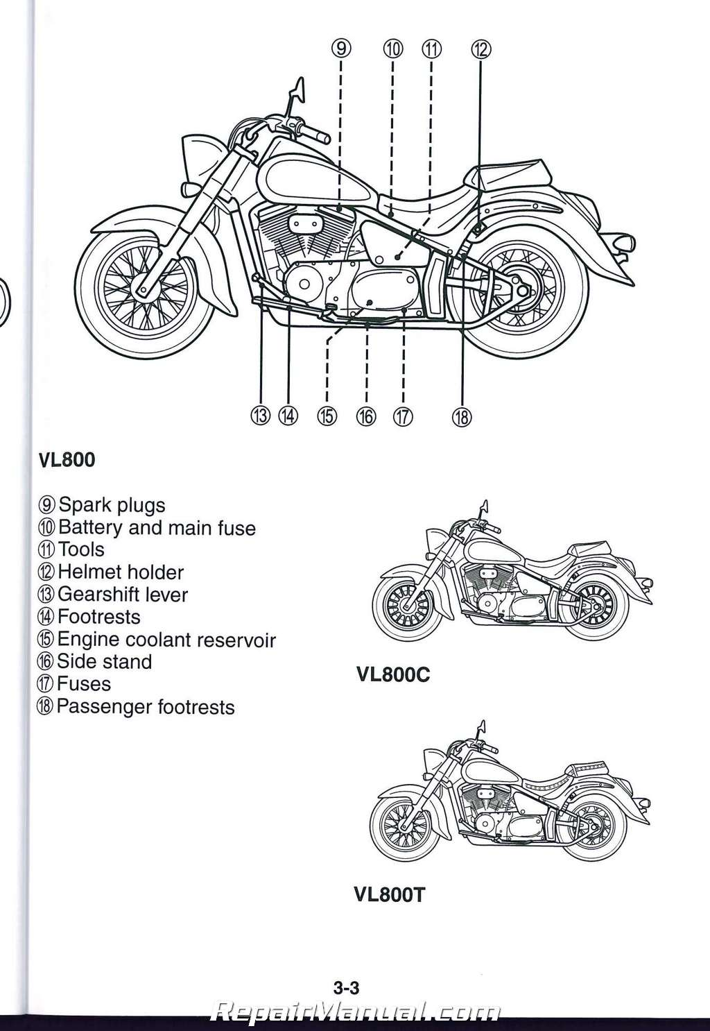 Suzuki C50t Wiring Diagrams Suzuki XL7 Electrical Diagram