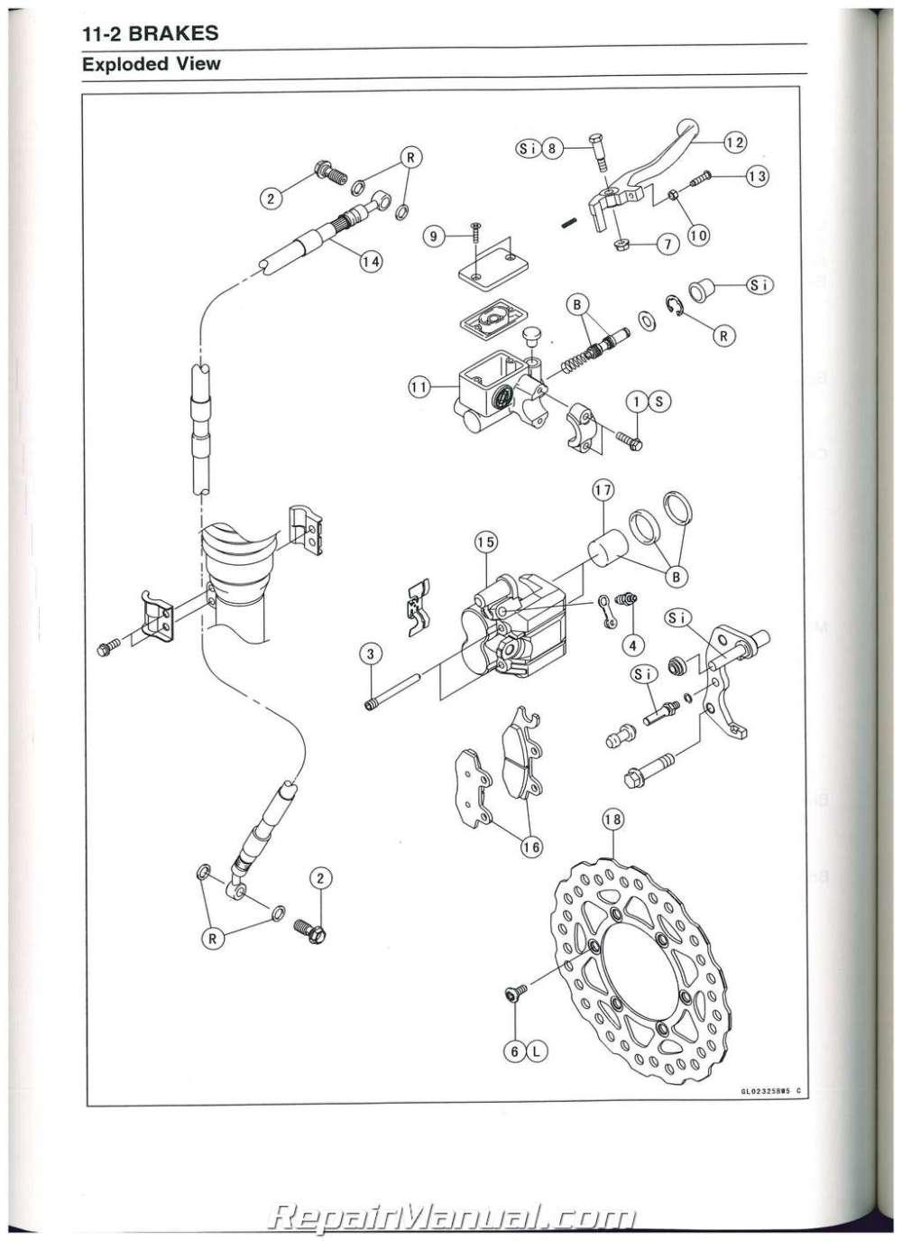 medium resolution of klx140 wiring diagram