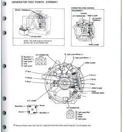 honda generator schematics wiring diagram schematics honda rv generator wiring schematic honda el5000 es6500 ex5500 generator [ 1024 x 1325 Pixel ]