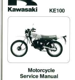 1979 2001 kawasaki ke100 two stroke motorcycle service manual wiring diagram 2001 kawasaki ke 100 [ 1024 x 1408 Pixel ]