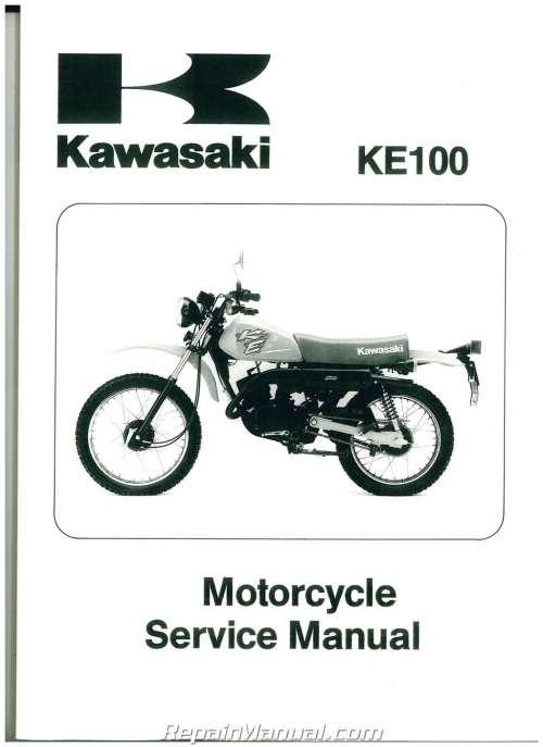 small resolution of 1979 2001 kawasaki ke100 two stroke motorcycle service manual wiring diagram 2001 kawasaki ke 100