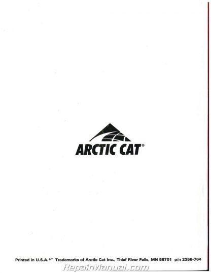 Used 2003 Arctic Cat 250 300 400 500 2x4 4x4 Automatic ATV