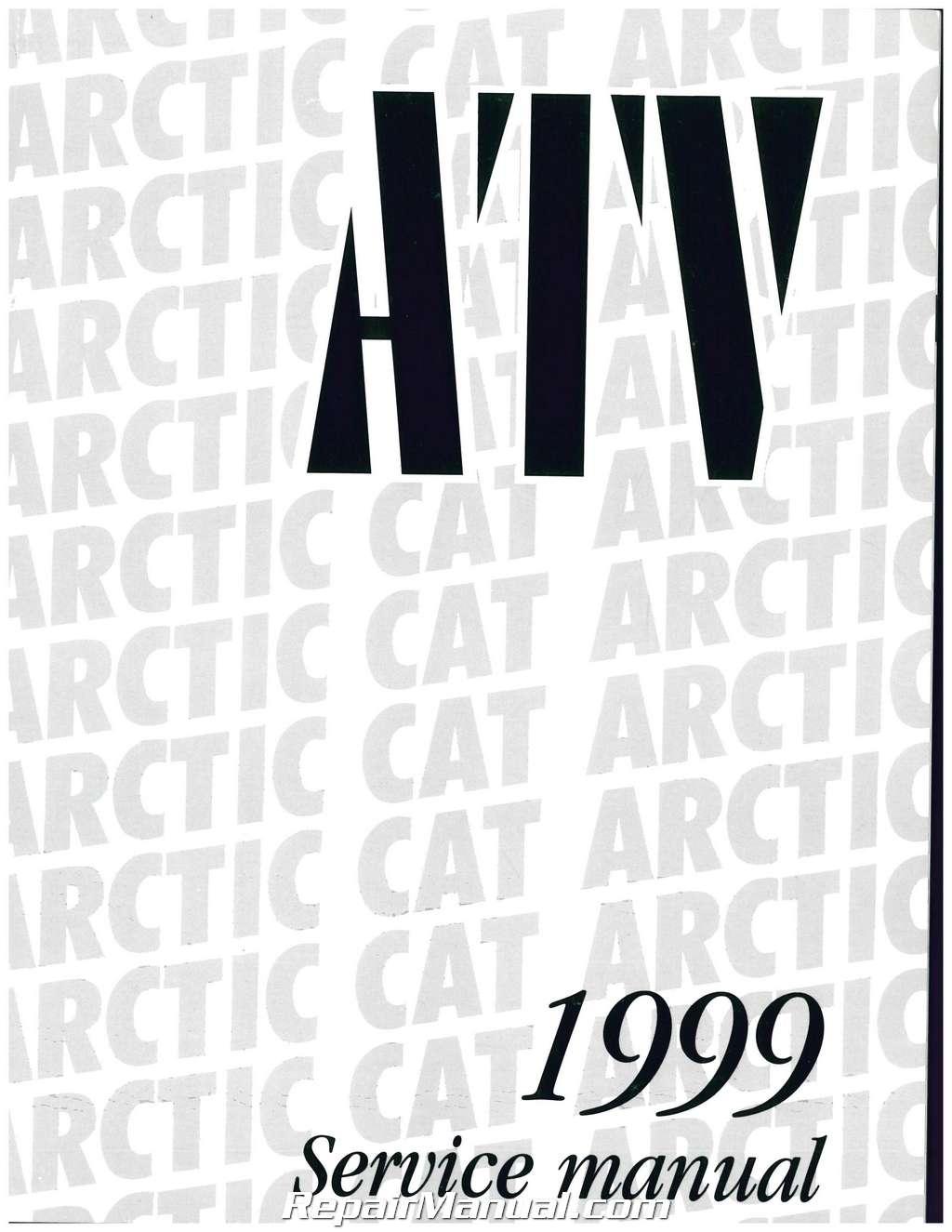 1999 Arctic Cat 500 4X4, 400 4X4, 300 4X4, 300 2X4, 250