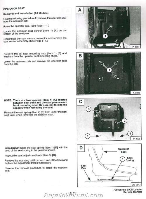 small resolution of 763 bobcat wiring diagram bobcat 751 753 763 773 includes h series for 753 service 743